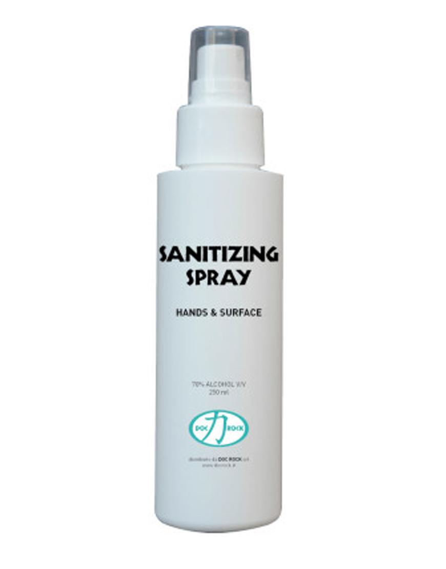 Spray desinfectante Hidroalcoholico Doc Rock
