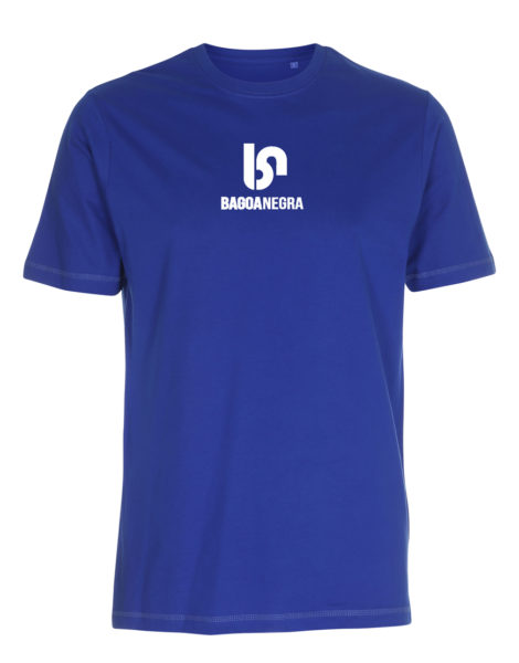 camiseta azul frontal