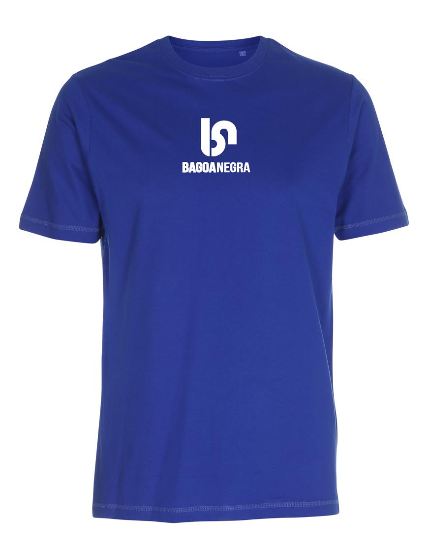 Camiseta Bagoa Negra azul royal